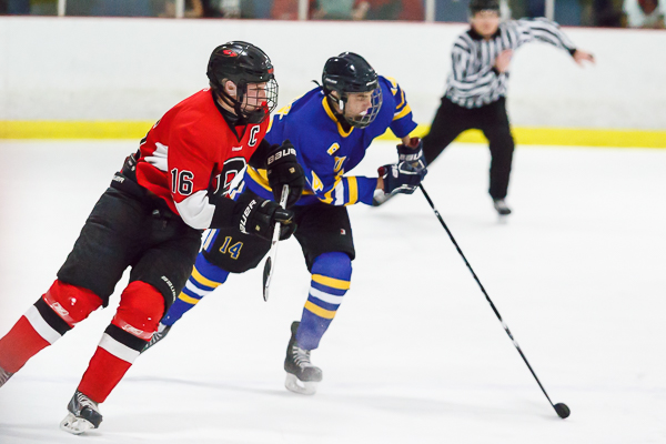 Brentwood hockey takes Battle of the Woods in shootout