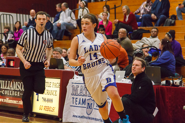 Lady Bruins rally past Hunters Lane, advance to region semifinals