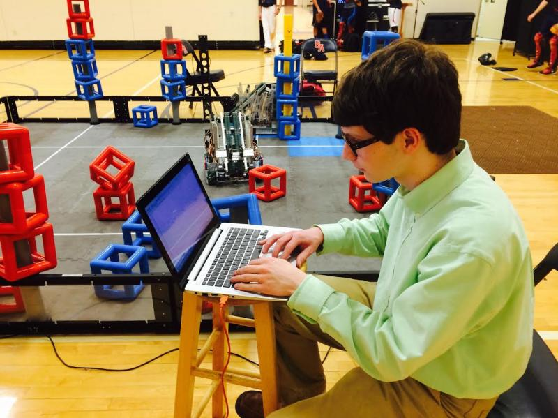 BA robotics team competes in world competition