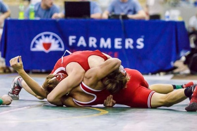 BA wrestling falls in first round of state duals tournament