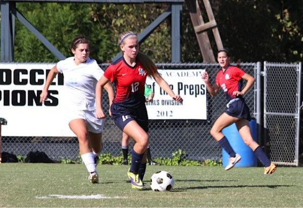 BA girls' soccer advances to state semifinals