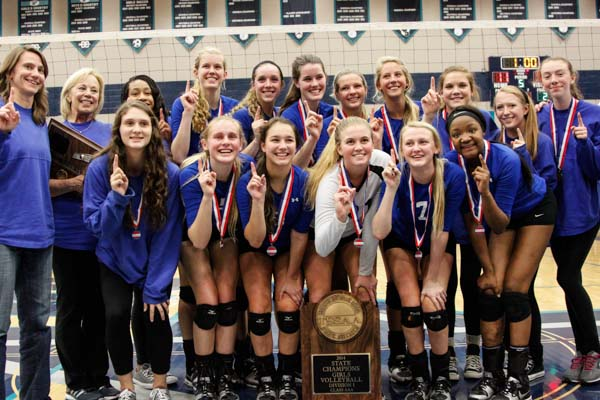 Brentwood volleyball captures 10th state title