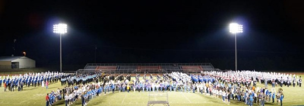 WCS 18th-annual marching band exhibition Sept. 13