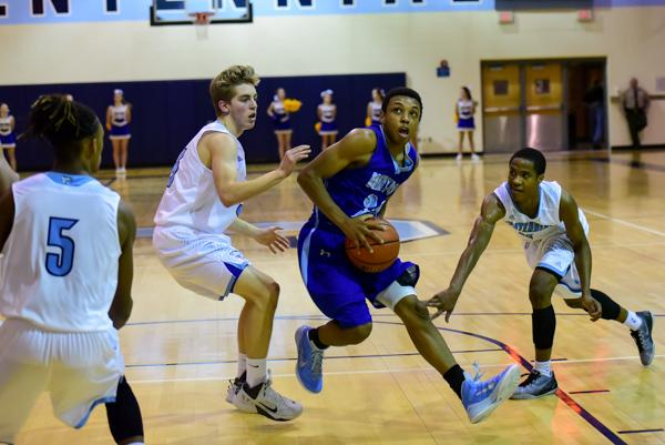 Brentwood boys, girls clinch district basketball wins at Centennial | Brentwood Home Page, BHP, Sports, Basketball, Brentwood Bruins
