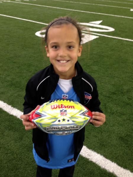 Pearre Creek student places second at NFL competition