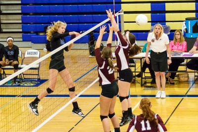 BHS volleyball routs district foe Franklin