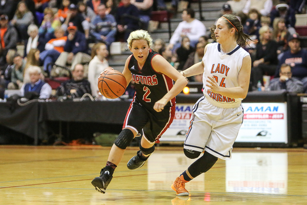 Dickson County girls run away late from RHS in district semis