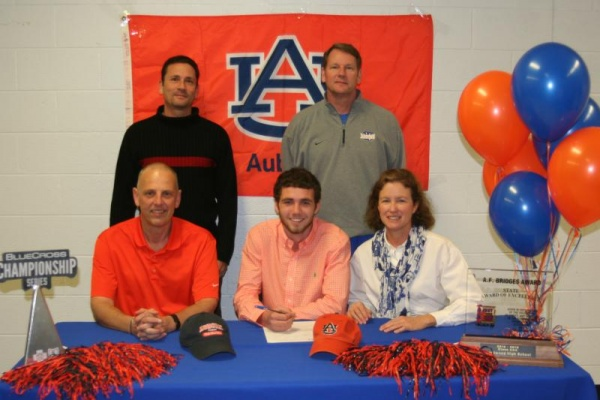 Brentwood's Churitch signs with Auburn