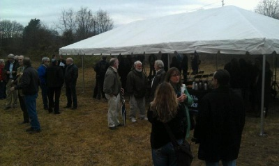 Ceremony marks preservation of 'Kellytown' settlement
