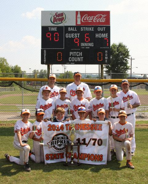 Youth baseball team wins state, advances to regionals