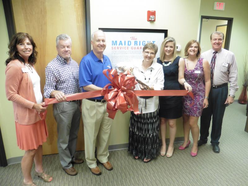 Maid Right celebrates ribbon cutting ceremony