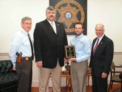 Detective David Beard named August Deputy of the Month