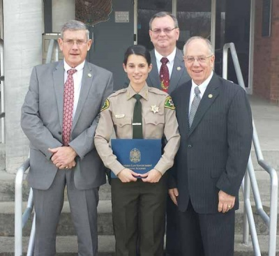 County deputy completes academy