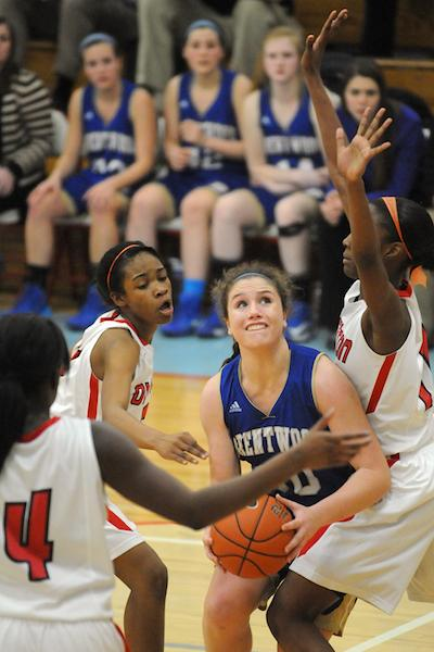 Lady Bruins' season ends in region semis