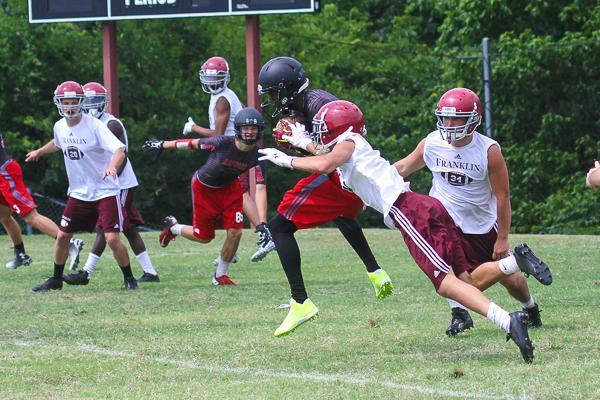 Raptors eliminate Brentwood, fall to Franklin in 7-on-7 tournament