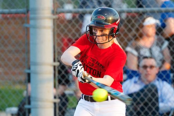 Ravenwood softball downs FHS on Pack the Park memorial night