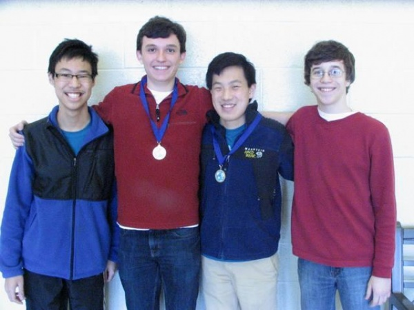 RHS team places 1st at Linguistics Olympiad