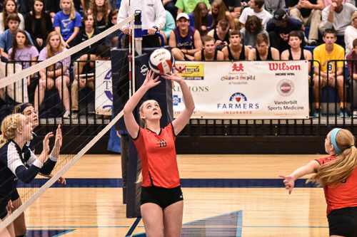Ravenwood volleyball eliminated from state