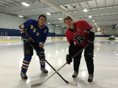 Players put friendship aside for hockey Battle of the Woods