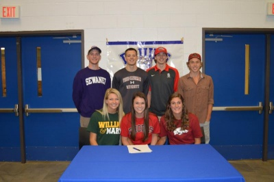 7 Brentwood athletes sign LOIs