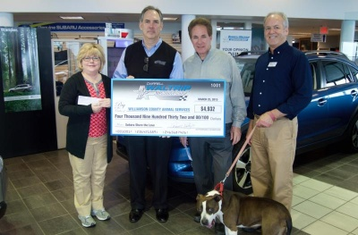 WCAC receives grant from Petfinder