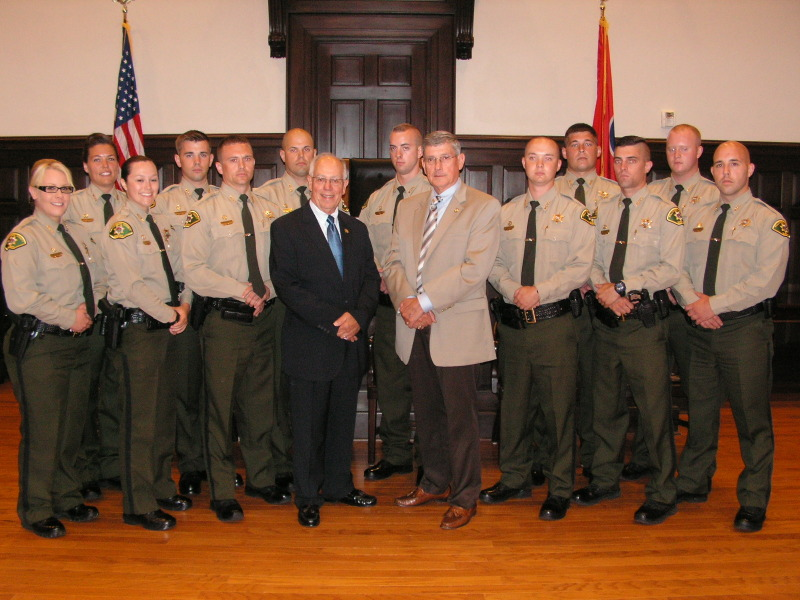 WCSO detective graduates from TBI Academy