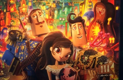 Vibrant 'Book of Life' shines with innovative animation