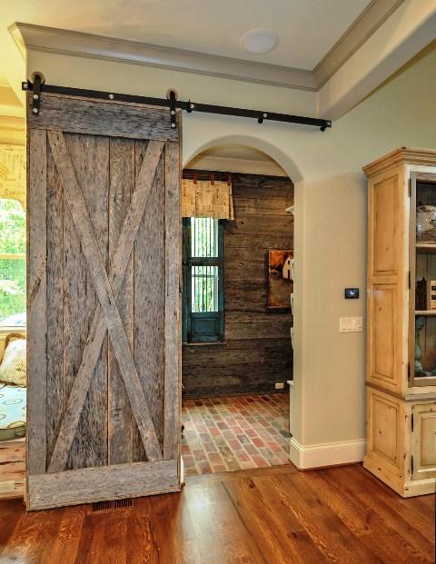 Repurposed Barn Door Images Doors Design Modern