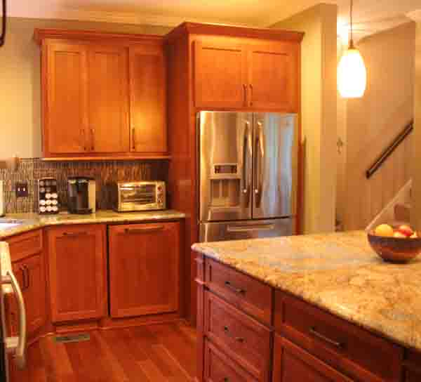 kitchen remodel success story - the final product - brentwood home