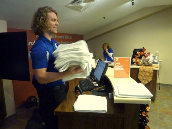 Y takes action to conquer $30,000 loss in towels | Maryland Farms YMCA, towels, radio-frequency identification, RFID, Brentwood TN news, Brentwood Home Page