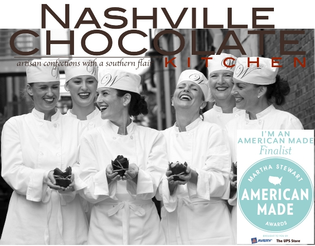 "Nashville Chocolate Kitchen a finalist for Martha's ""American Made"" award 