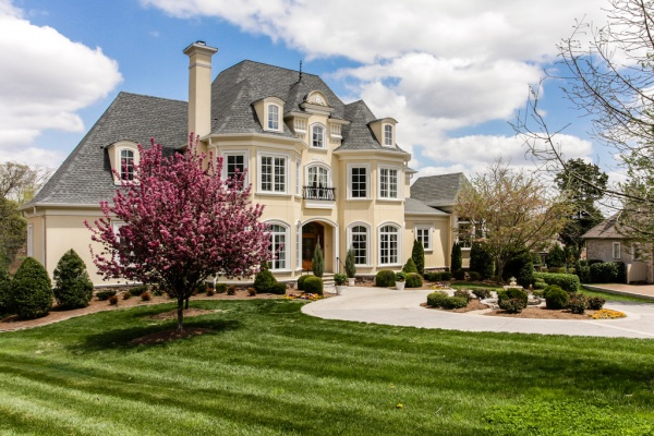 Exquisite French Manor In Governors Club Franklin Home Page