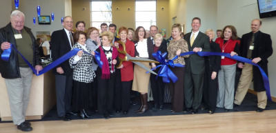 Pinnacle makes it official: Town Center's home | Pinnacle Bank, Ribbon Cutting, Williamson County Franklin Chamber of Commerce, Brentwood Cool Springs Chamber of Commerce, Brad Dunn, Cindi Parmenter, Betsy Crossley