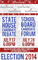 Six school board candidates to participate in televised forum