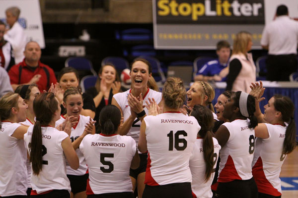 RHS volleyball wins State Championship | Ravenwood High School, Lady Raptors, volleyball, Tennessee State Champions