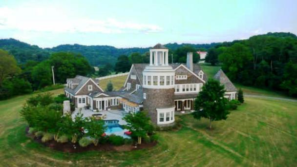New England Inspired Elegance Brentwood Home Page