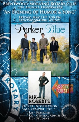 Parker Blue headlines Rotary's annual 'Evening '