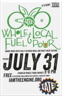 Whole Fuel and Local Pour highlights cycling, local breweries | Whole Fuel, Whole Foods Market, craft beers, healthy eating, cycling, Franklin TN news, Brentwood Home Page