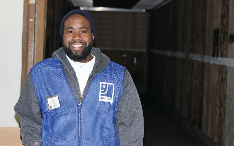 Franklin man selected as Goodwill's spotlighted employee for March