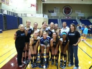 Brentwood volleyball takes Huntsville Invitational