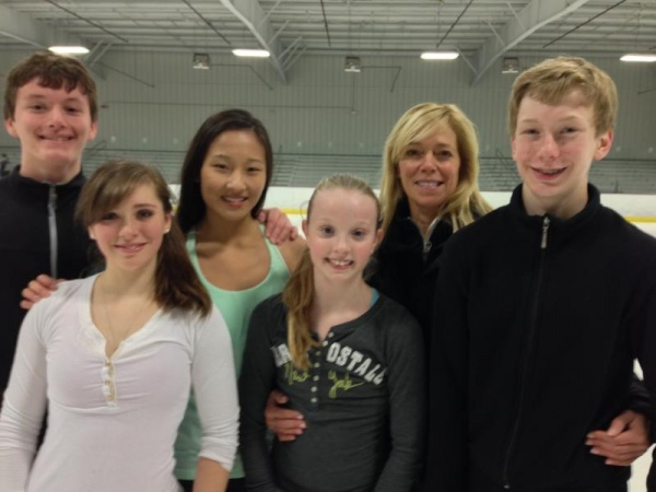 Area figure skaters qualify for nationals