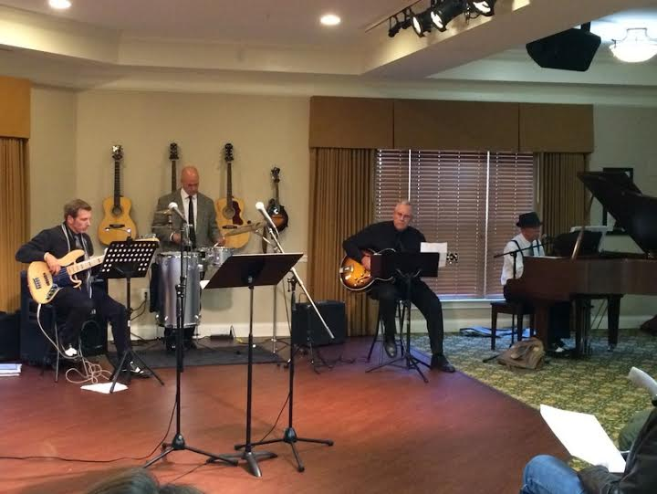 Wing Tip of First United Methodist Church performs at Morning Pointe