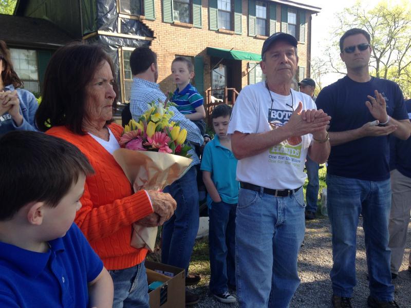 It took Both Hands to restore Nolensville widow's home