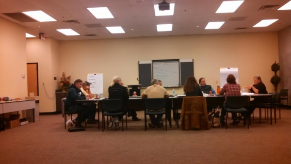 County school board works on building better relations at retreat