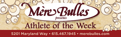 Mere Bulles Athletes of the Week March 3