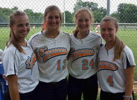 4 area softball players to compete in national tournament