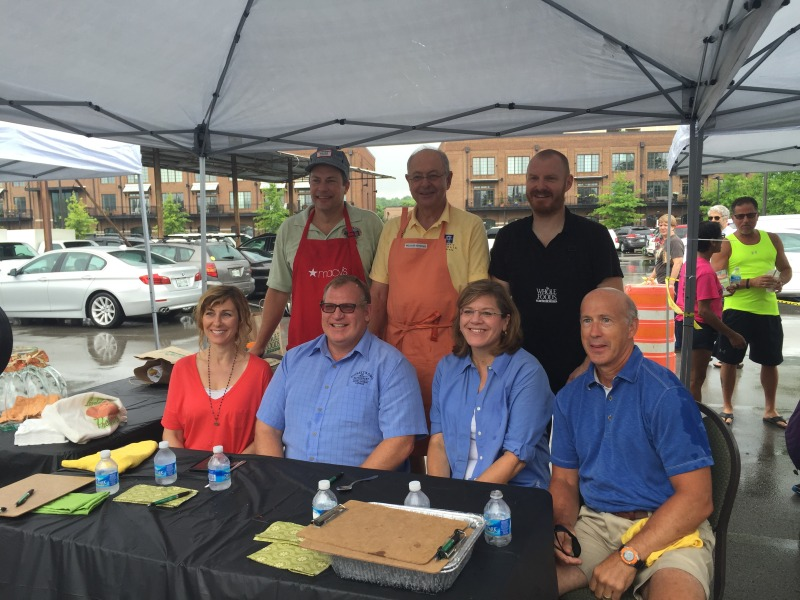 Mayor's cookoff success despite storms