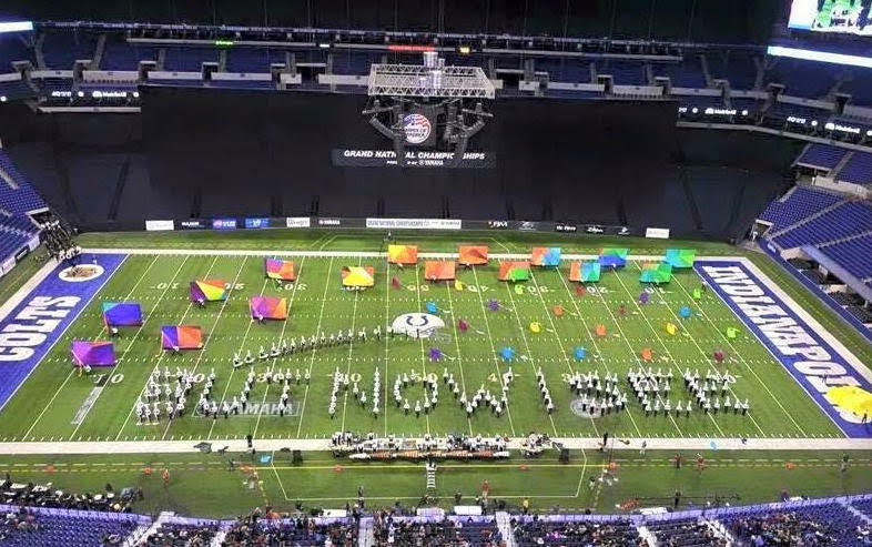 State champion Franklin High band places 13th in nation