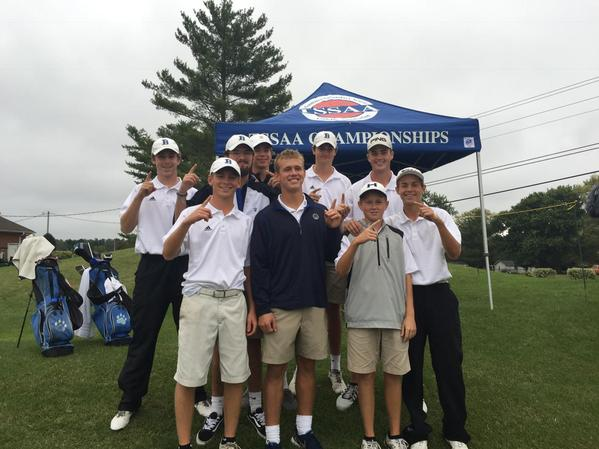 Brentwood boys golf wins AAA state title