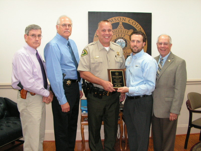 WCSO deputy named Deputy of the Month for May